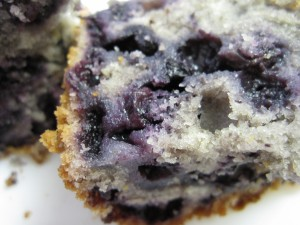 Moist and blueberry-full!